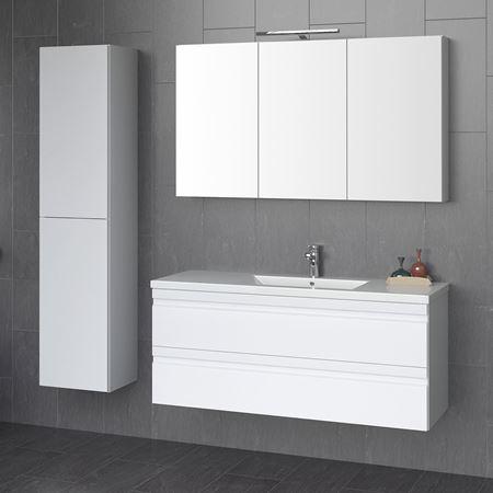 Bilde for kategori Merkur 120 møbelsett speilskap