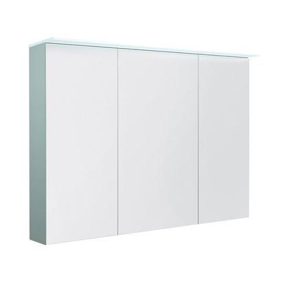 Bilde av Speilskap med lystopp, matt blå