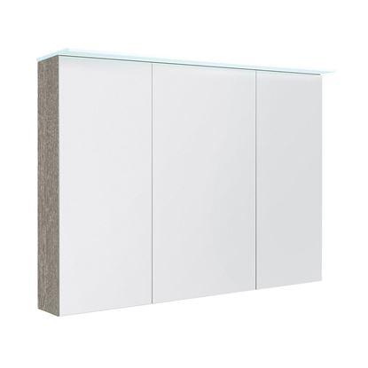 Bilde av Speilskap med lystopp, grå ask