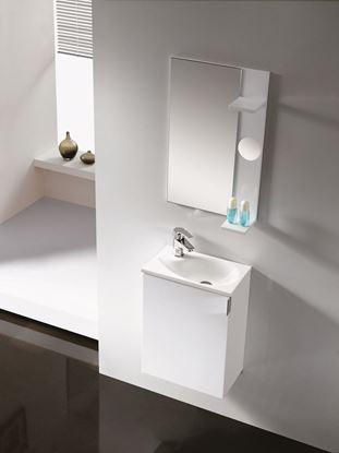 Bilde av Oporto møbelsett, hvit høyglans