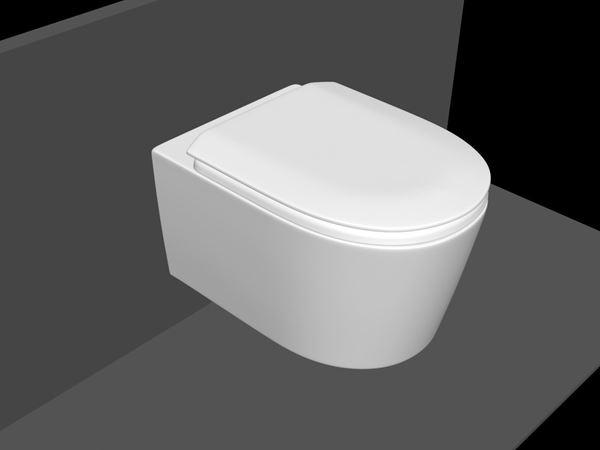 Bilde av Elegance toalettsete m/soft close